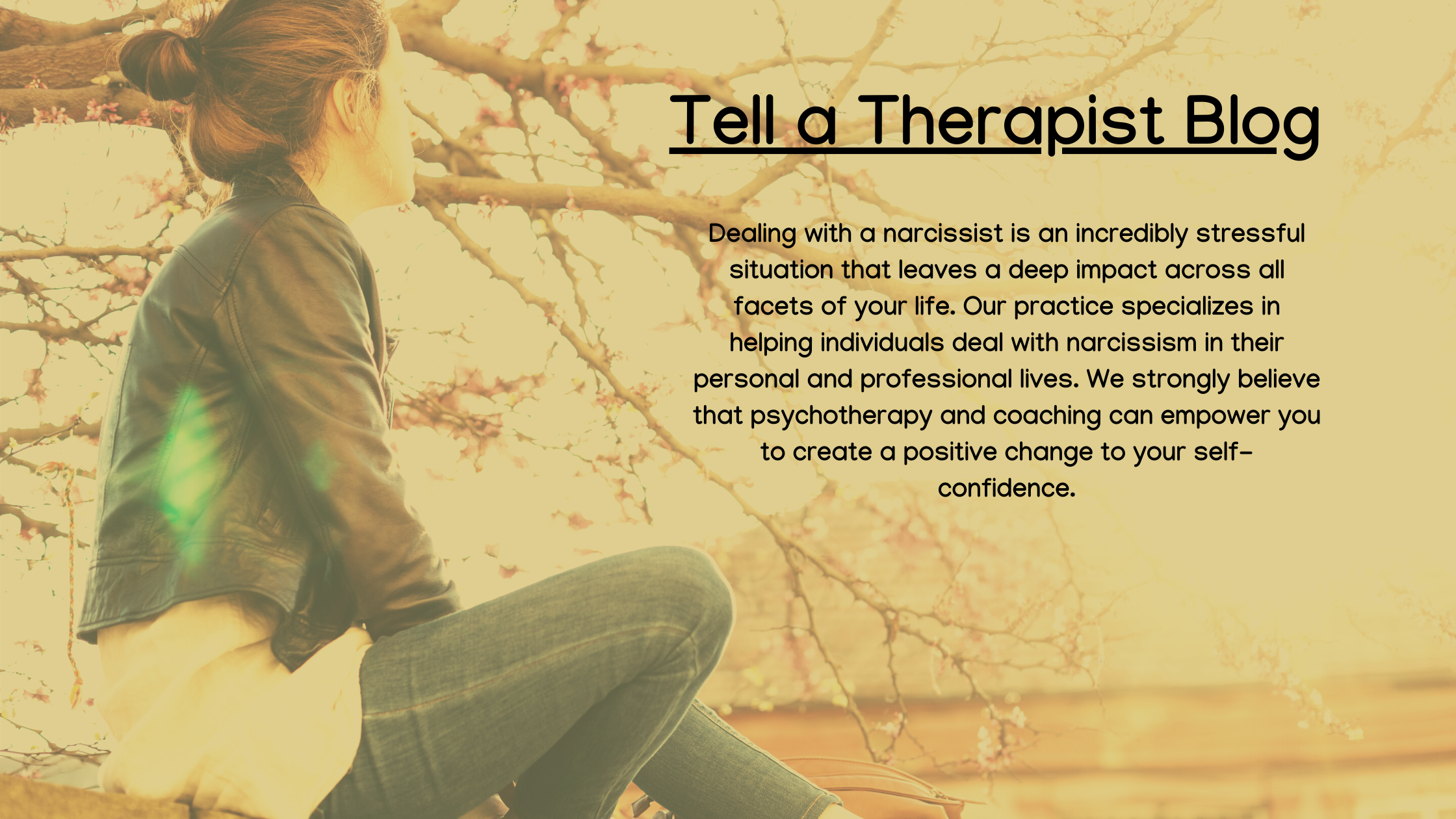 Tell a therapist blog link